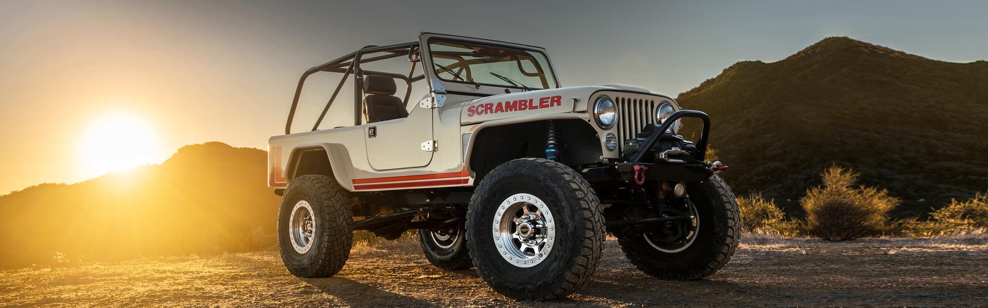 Запчасти на Jeep CJ